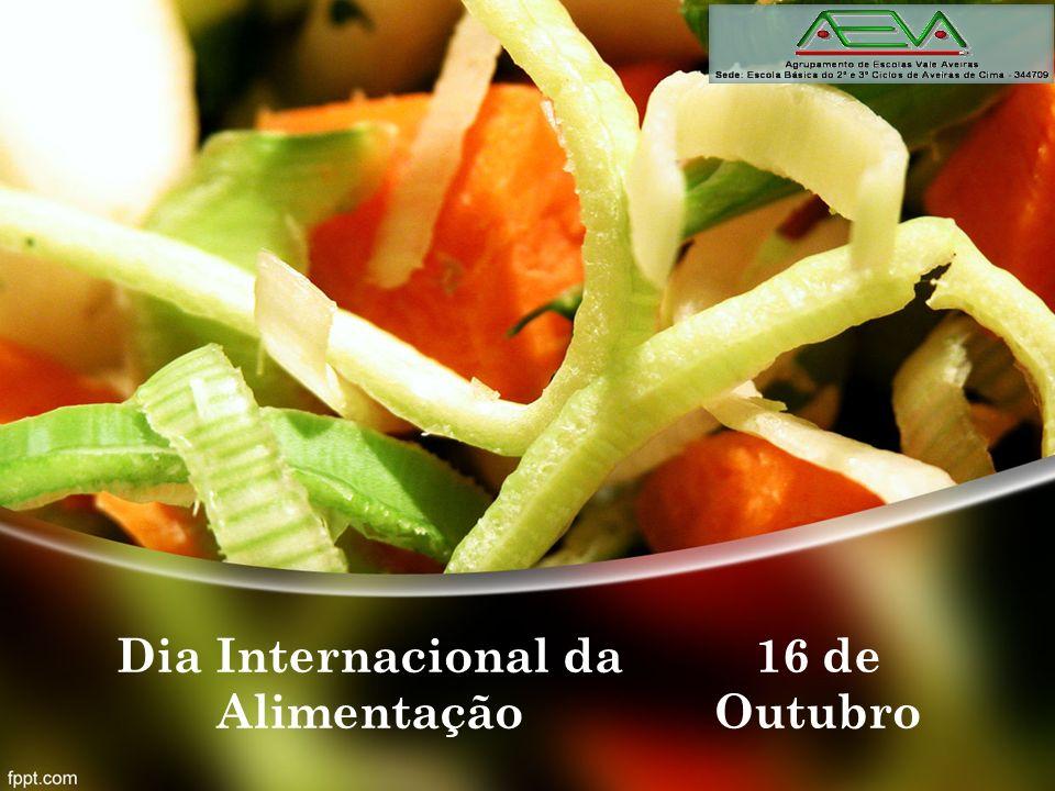 Dia Internacional da Alimentação