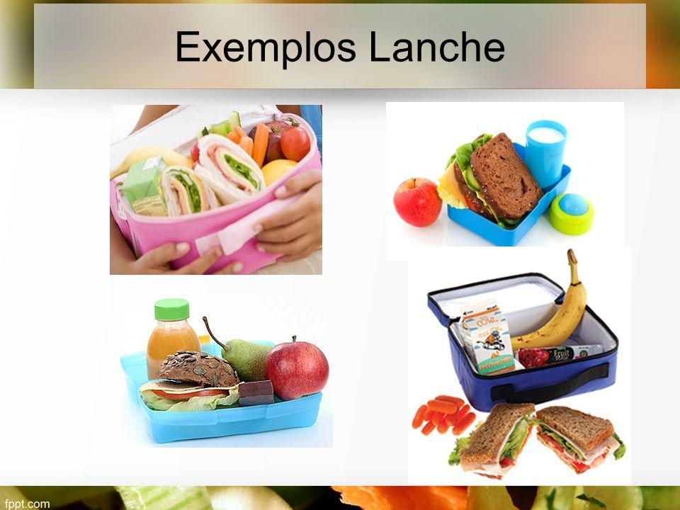 Exemplos Lanche