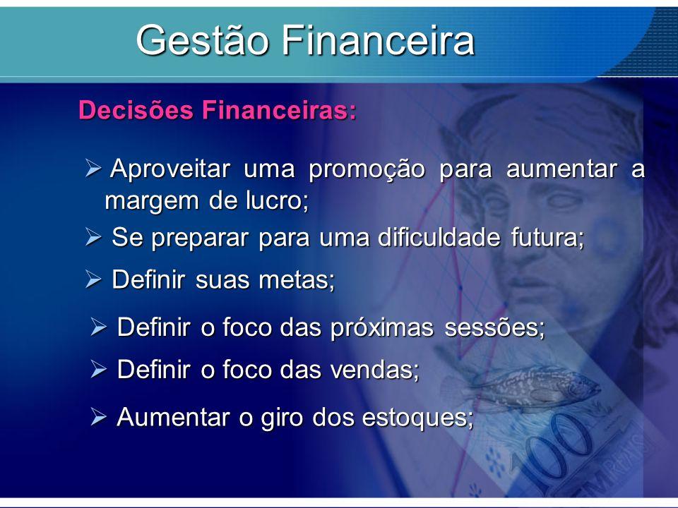Gestão Financeira Decisões Financeiras: