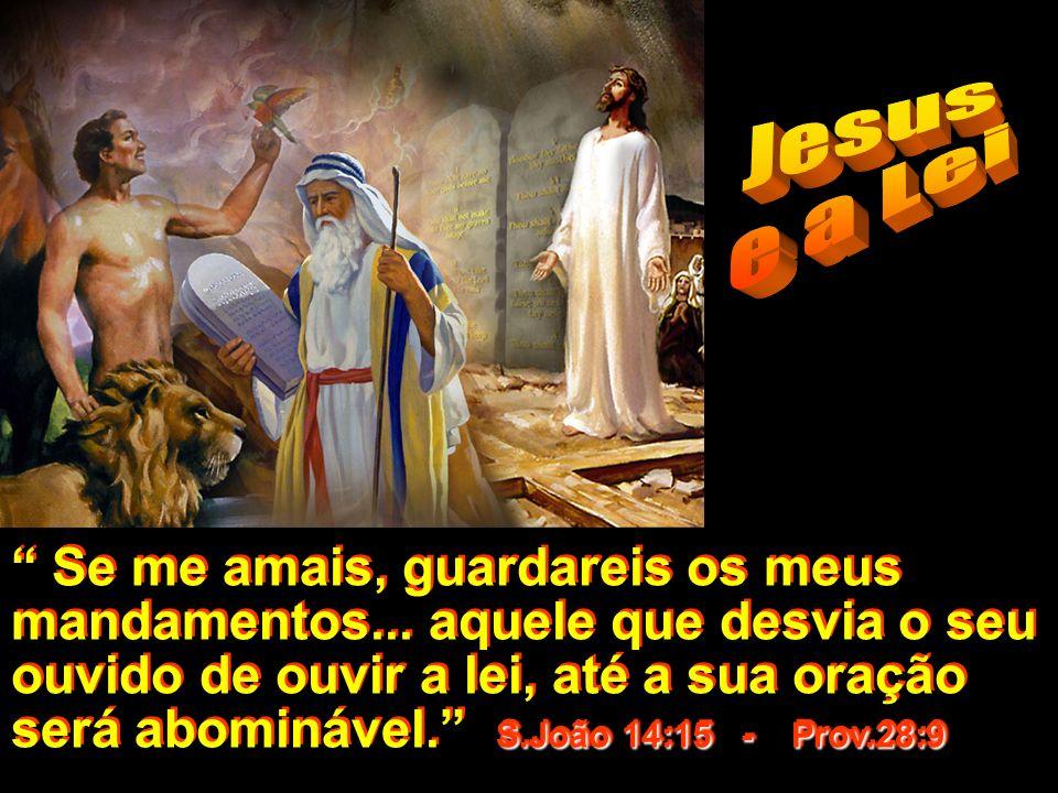 Jesus e a Lei.