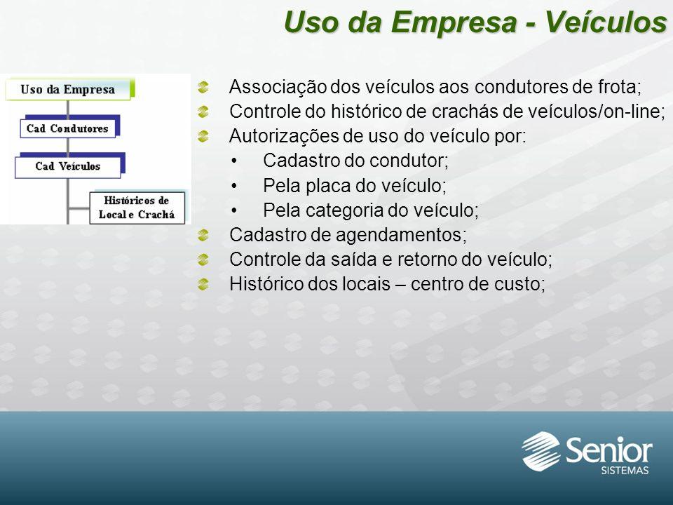 Uso da Empresa - Veículos
