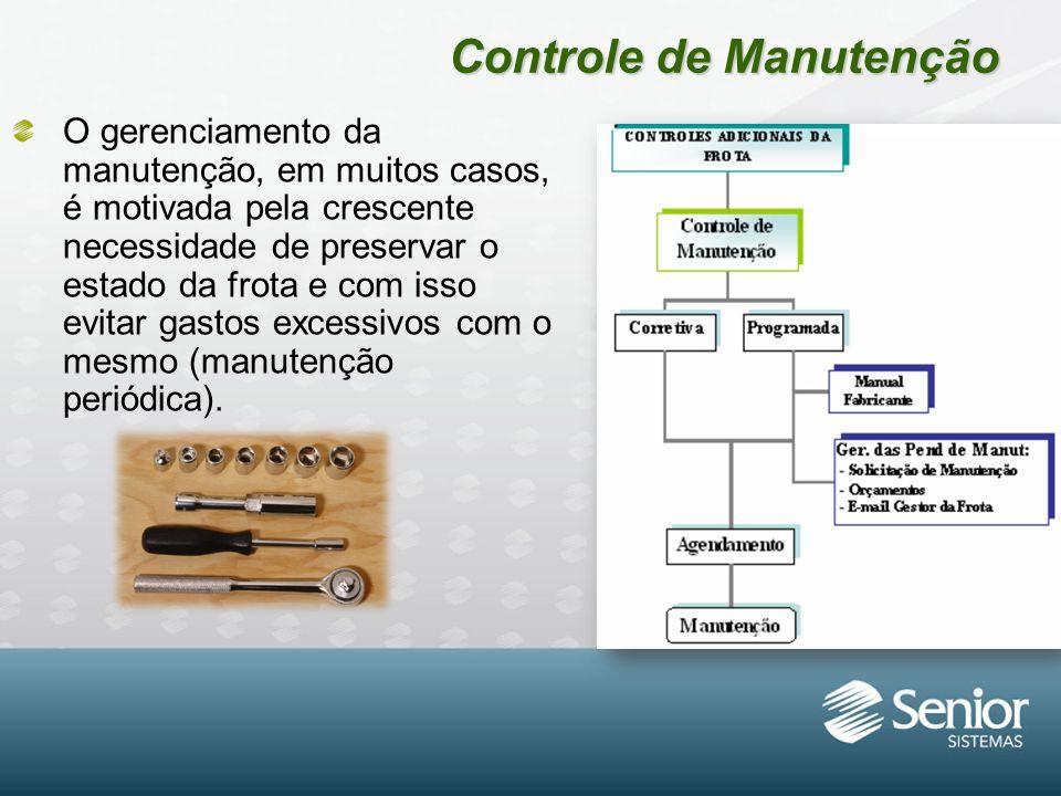 Controle de Manutenção