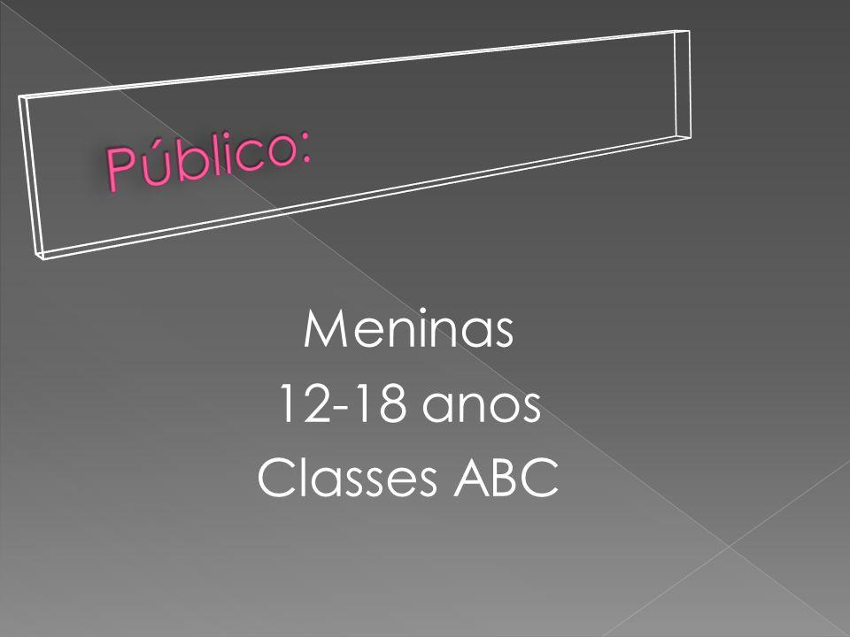 Meninas 12-18 anos Classes ABC