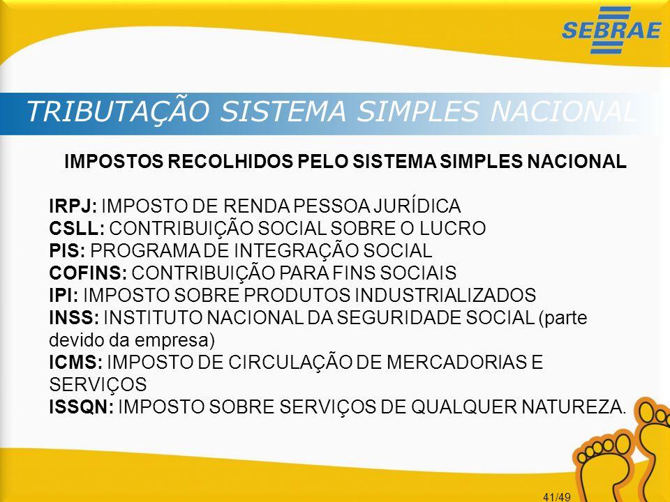 Sistema nacional de imposto simples Artigo - September 2019