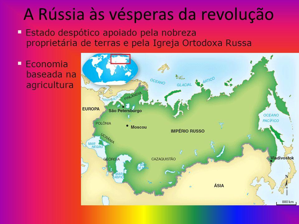 A Rússia às vésperas da revolução