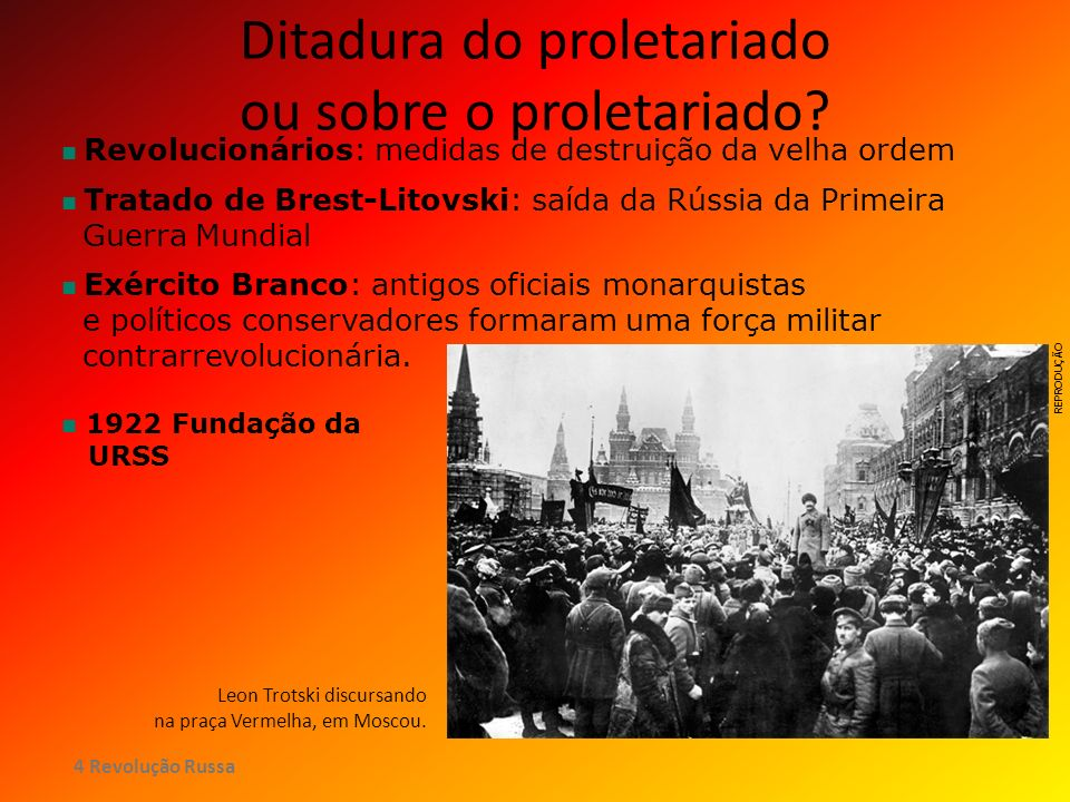 Ditadura do proletariado ou sobre o proletariado