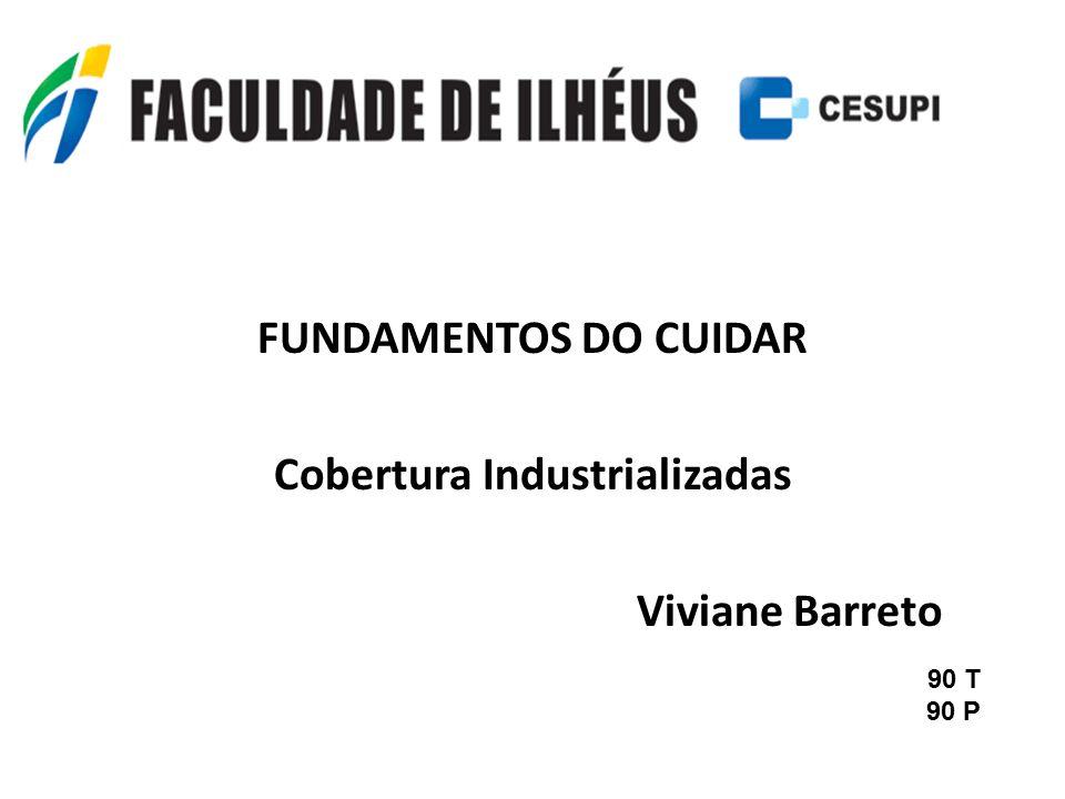 Cobertura Industrializadas