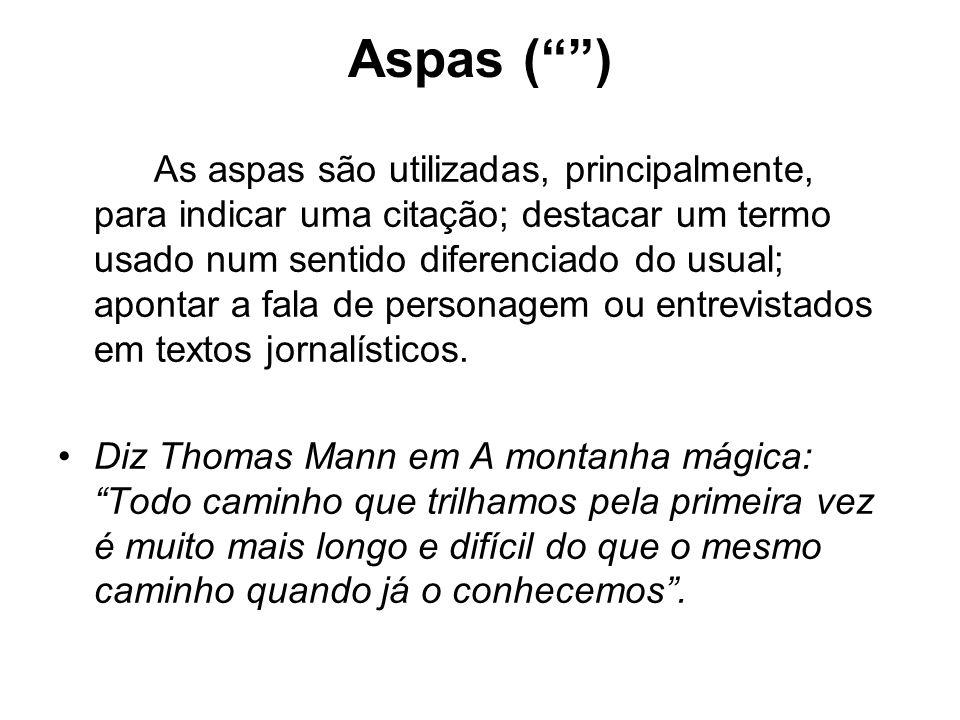 Aspas ( )