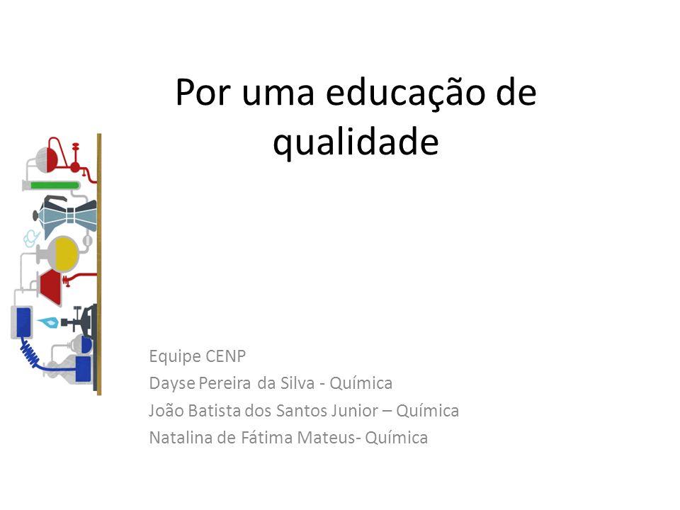 Por uma educação de qualidade