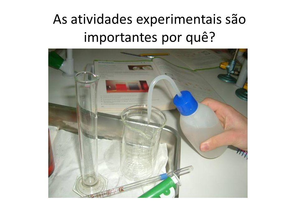 As atividades experimentais são importantes por quê
