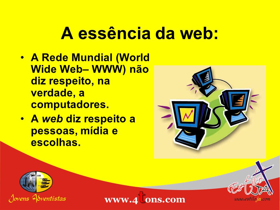 A essência da web: Estiloja.com