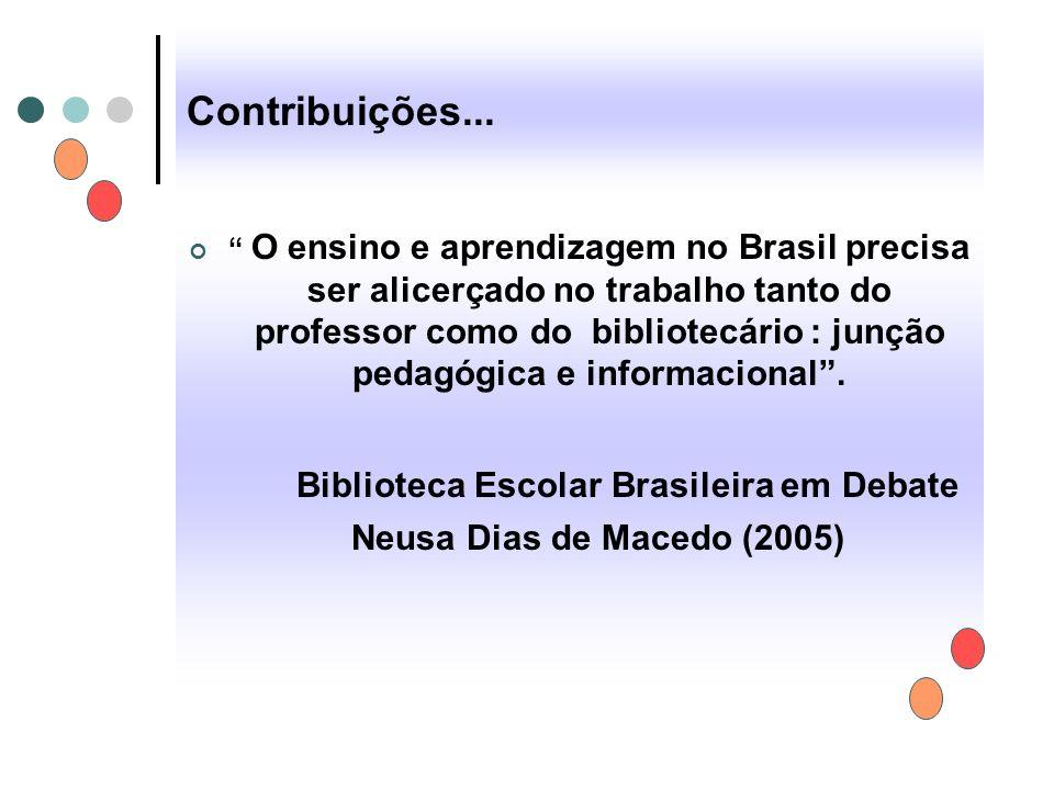 Biblioteca Escolar Brasileira em Debate