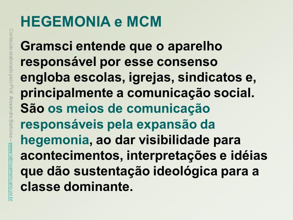 HEGEMONIA e MCM