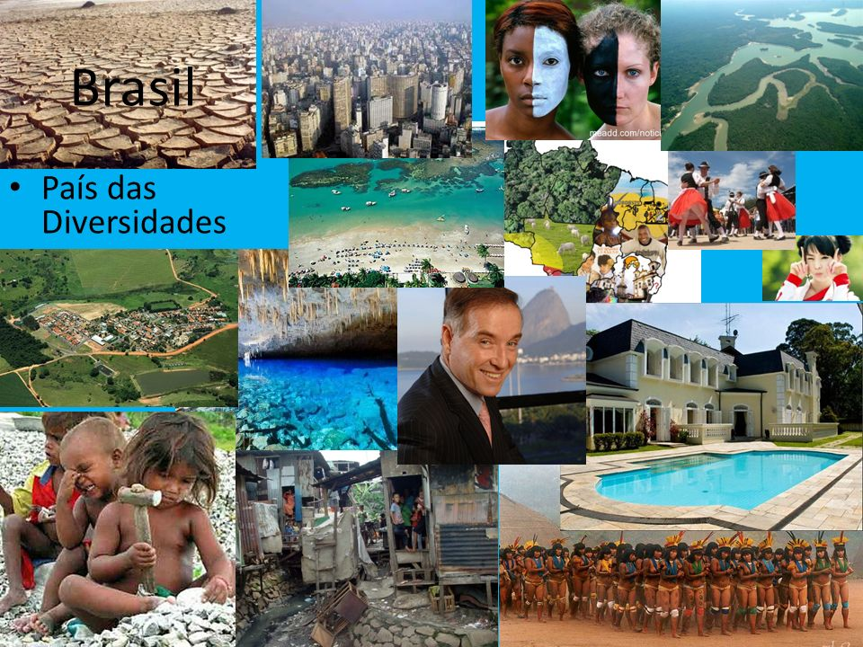 Brasil País das Diversidades