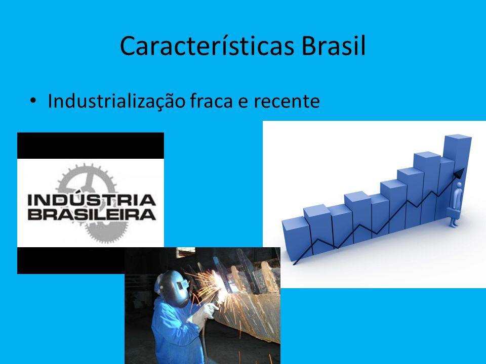 Características Brasil