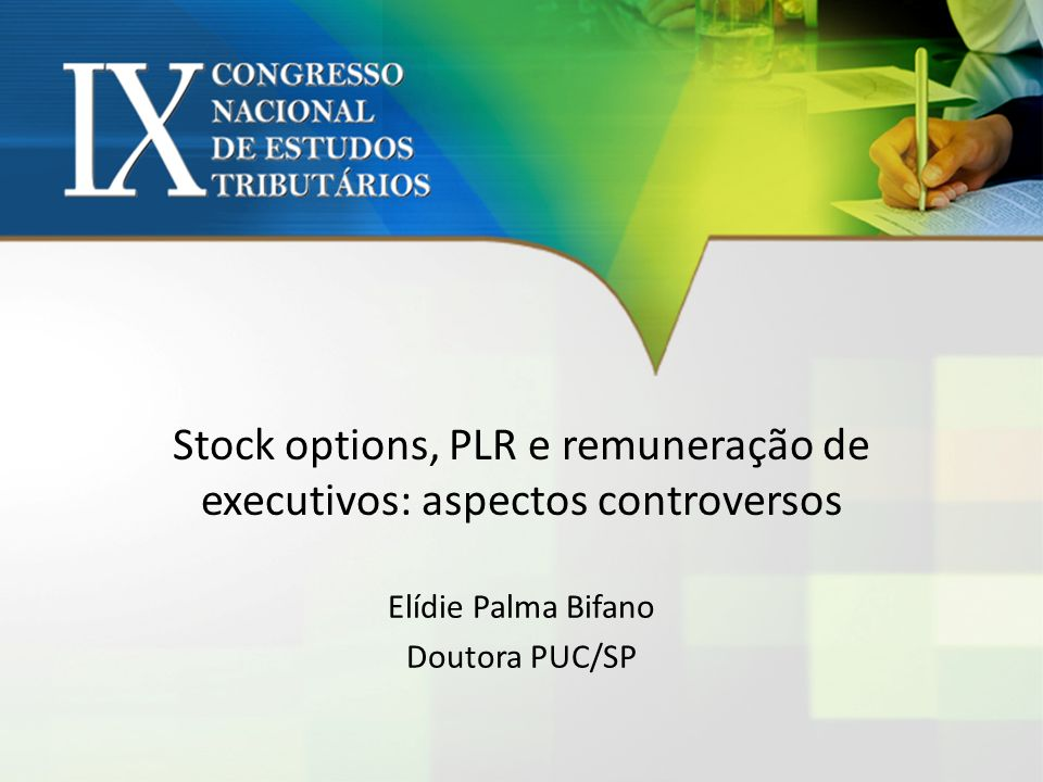 Stock options conceito