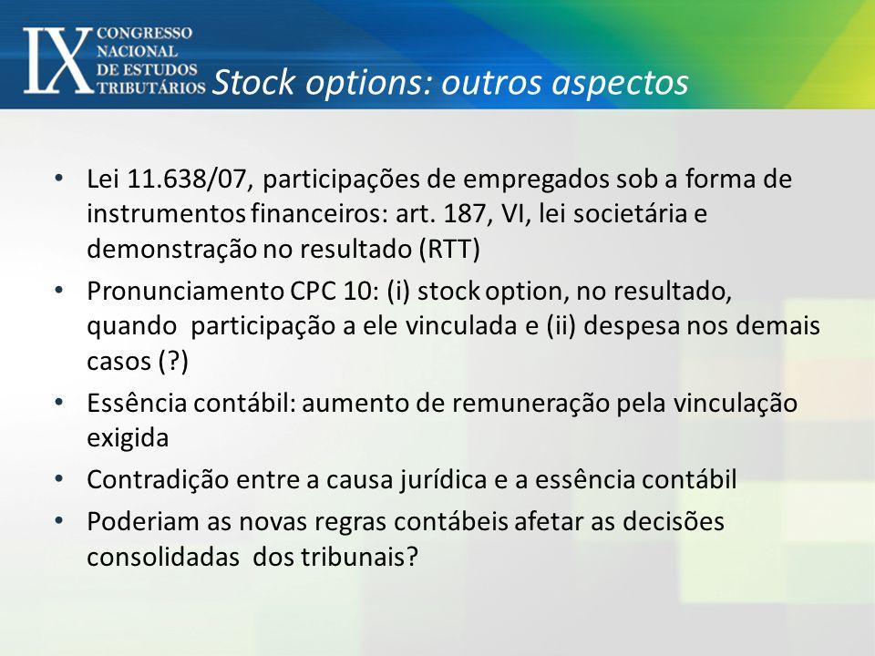 Stock options no direito do trabalho