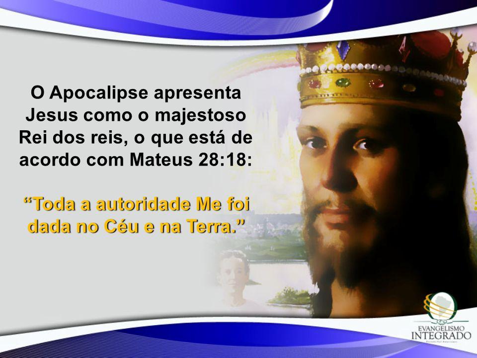 Toda a autoridade Me foi dada no Céu e na Terra.