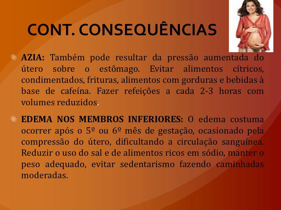 CONT. CONSEQUÊNCIAS
