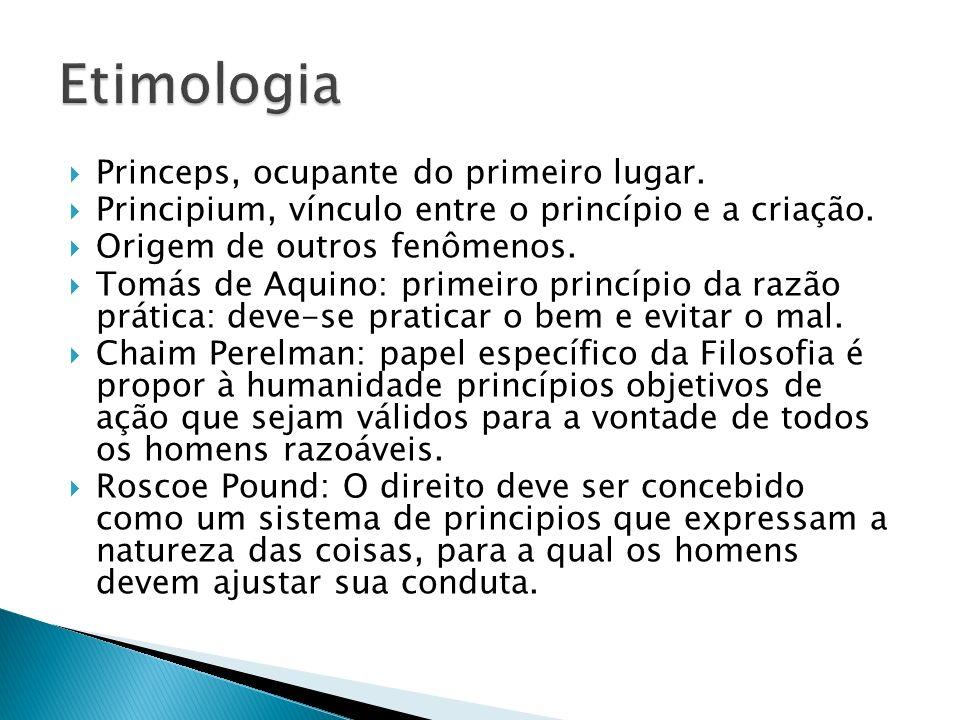 Etimologia Princeps, ocupante do primeiro lugar.