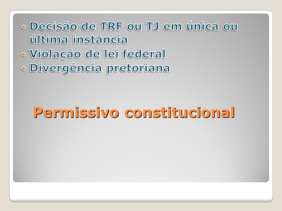 Permissivo constitucional