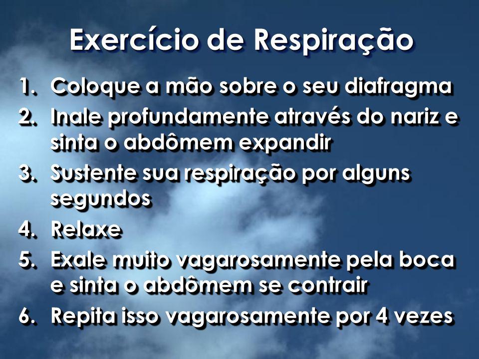 Exercício de Respiração