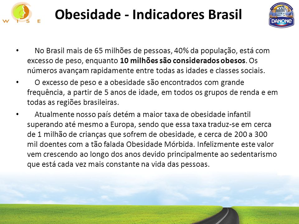 Obesidade - Indicadores Brasil