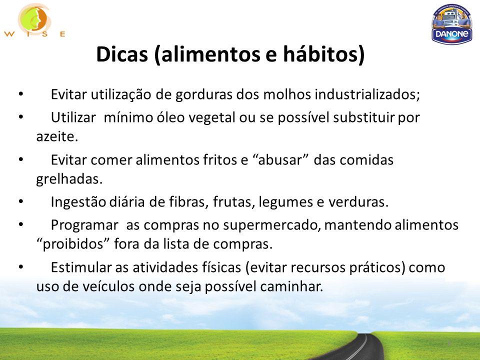 Dicas (alimentos e hábitos)