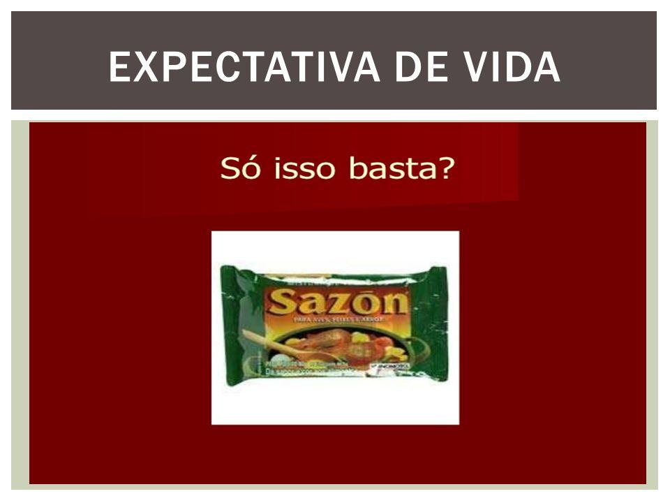 EXPECTATIVA DE VIDA