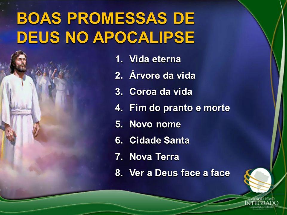 BOAS PROMESSAS DE DEUS NO APOCALIPSE