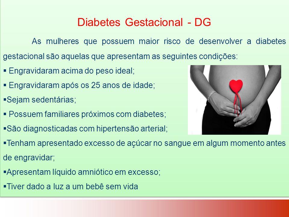 Diabetes Gestacional - DG