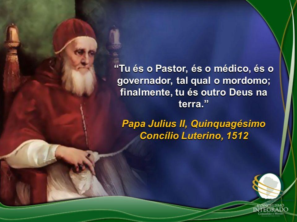 Papa Julius II, Quinquagésimo Concílio Luterino, 1512