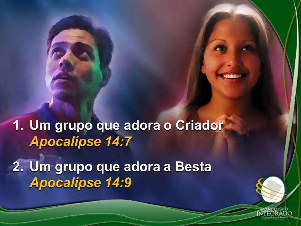Um grupo que adora o Criador Apocalipse 14:7