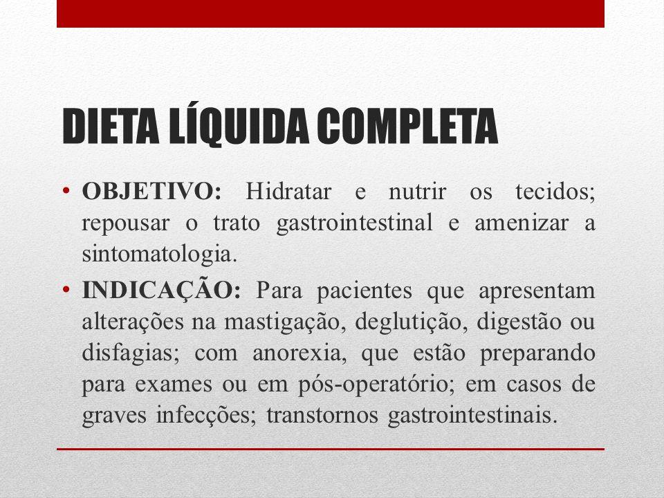 DIETA LÍQUIDA COMPLETA