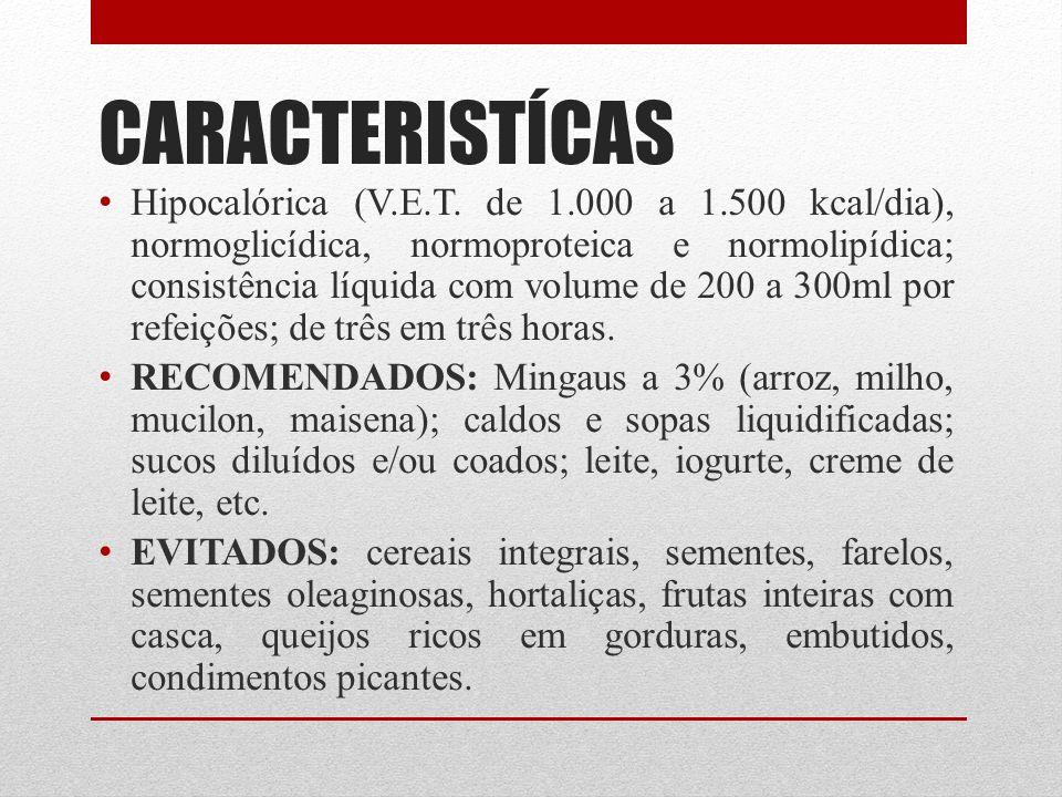 CARACTERISTÍCAS