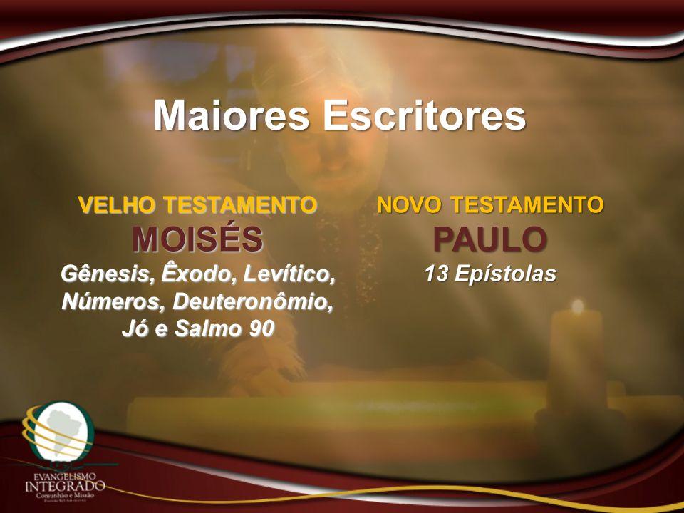 Gênesis, Êxodo, Levítico, Números, Deuteronômio, Jó e Salmo 90