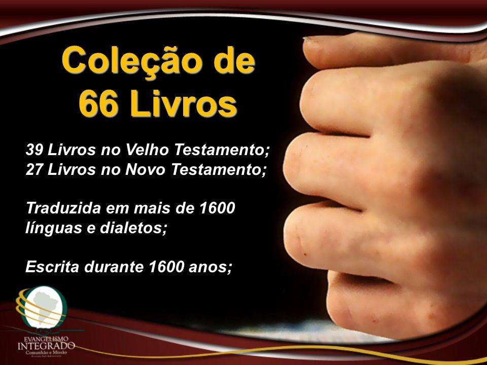 Coleção de 66 Livros 39 Livros no Velho Testamento;