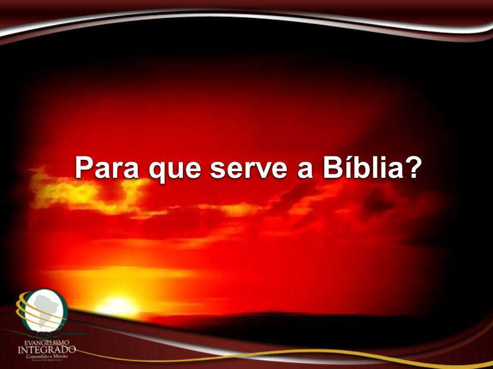 Para que serve a Bíblia