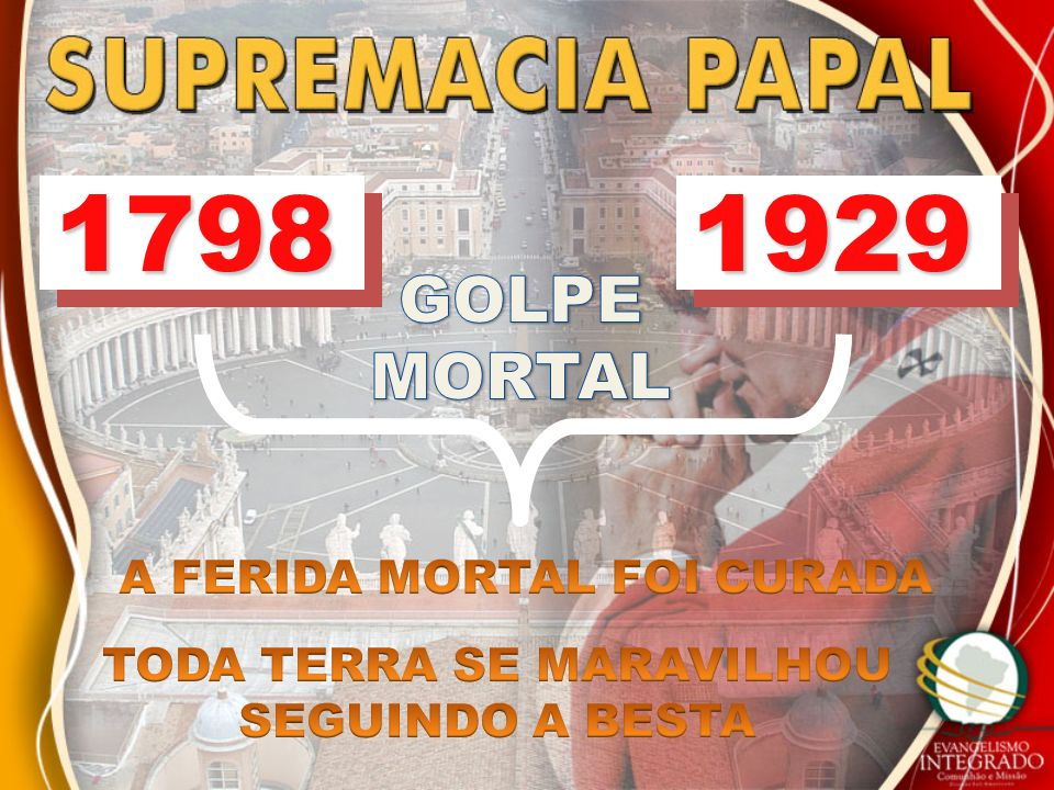 A FERIDA MORTAL FOI CURADA TODA TERRA SE MARAVILHOU