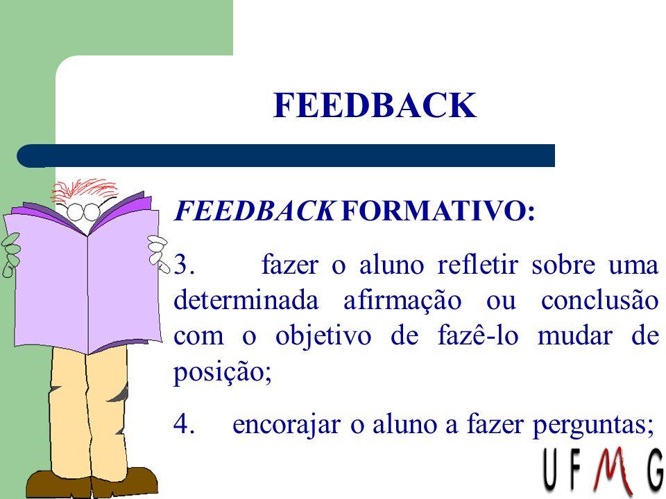 FEEDBACK FEEDBACK FORMATIVO: