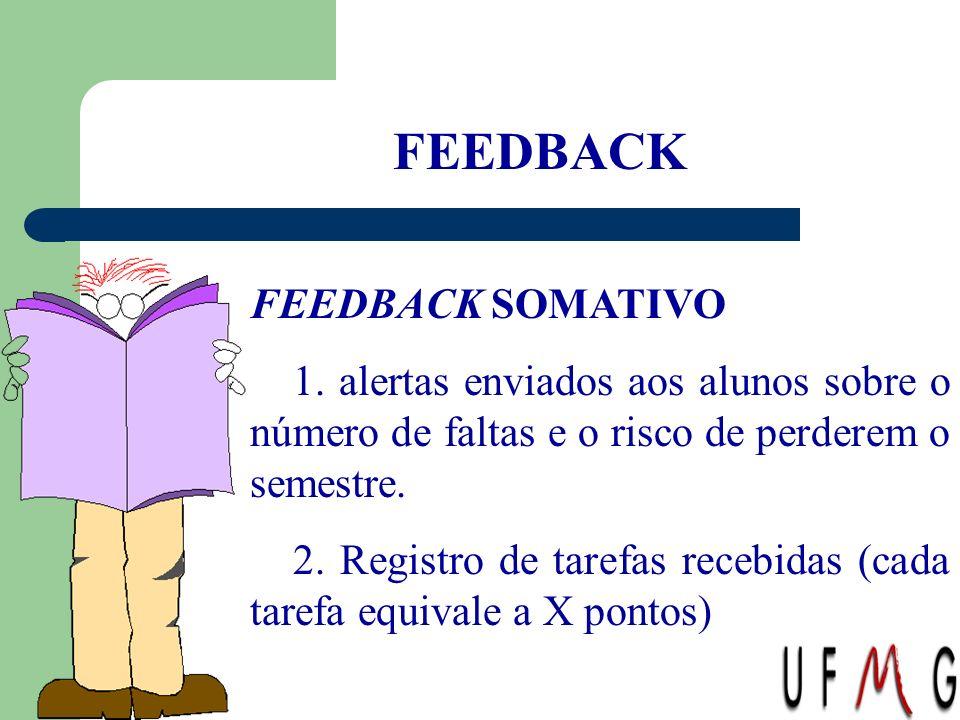 FEEDBACK FEEDBACK SOMATIVO