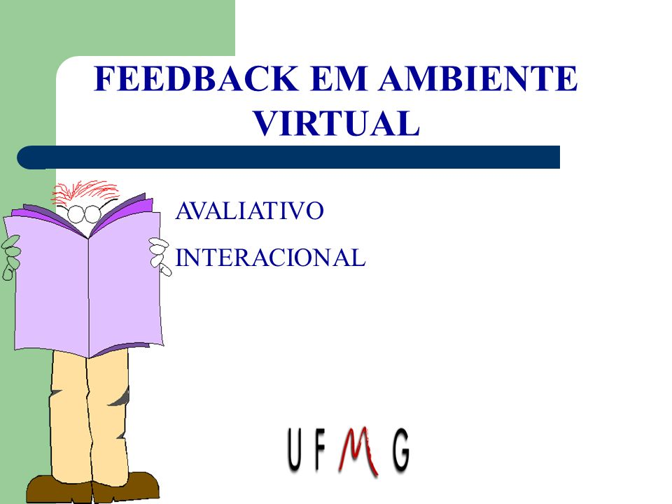 FEEDBACK EM AMBIENTE VIRTUAL
