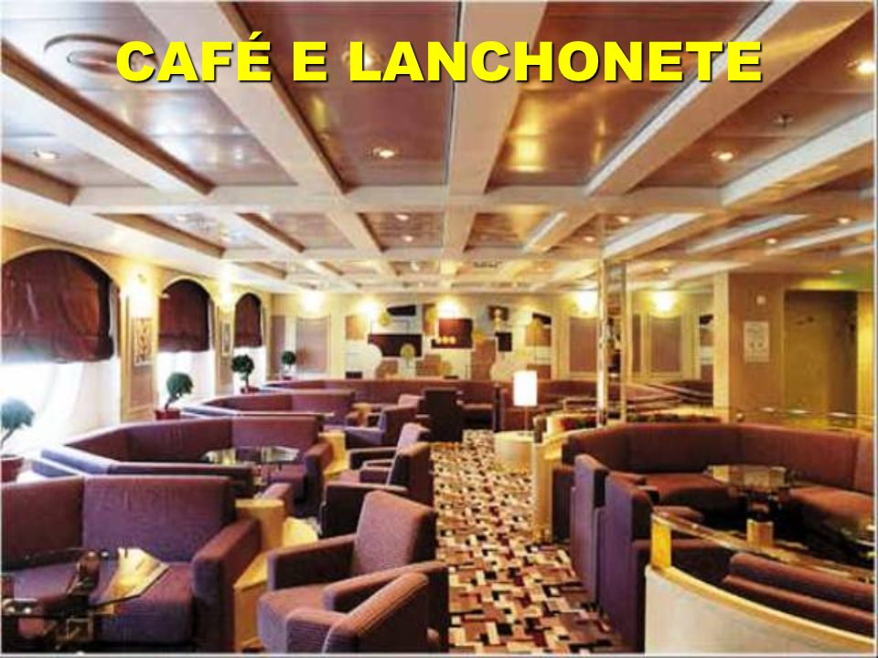 CAFÉ E LANCHONETE