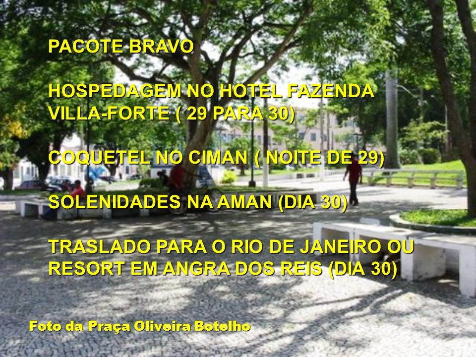 Foto da Praça Oliveira Botelho
