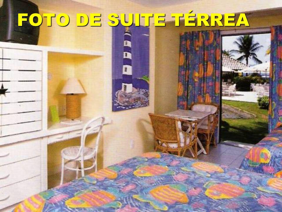FOTO DE SUITE TÉRREA