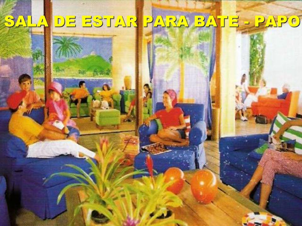 SALA DE ESTAR PARA BATE - PAPO