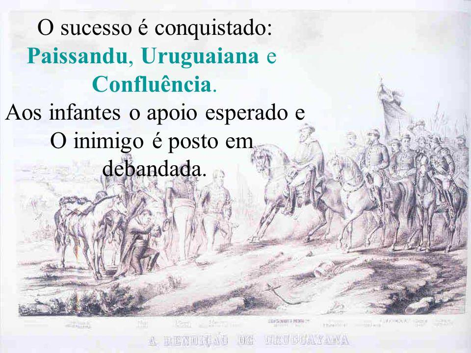 O sucesso é conquistado: Paissandu, Uruguaiana e Confluência.