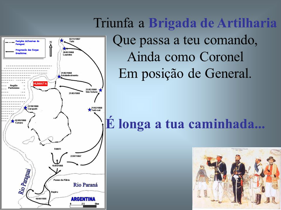 Triunfa a Brigada de Artilharia