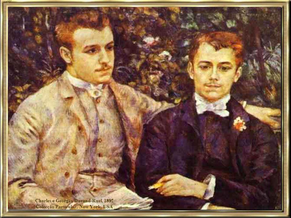 Charles e Georges Durand-Ruel, 1882 Colecção Particular, New York, USA