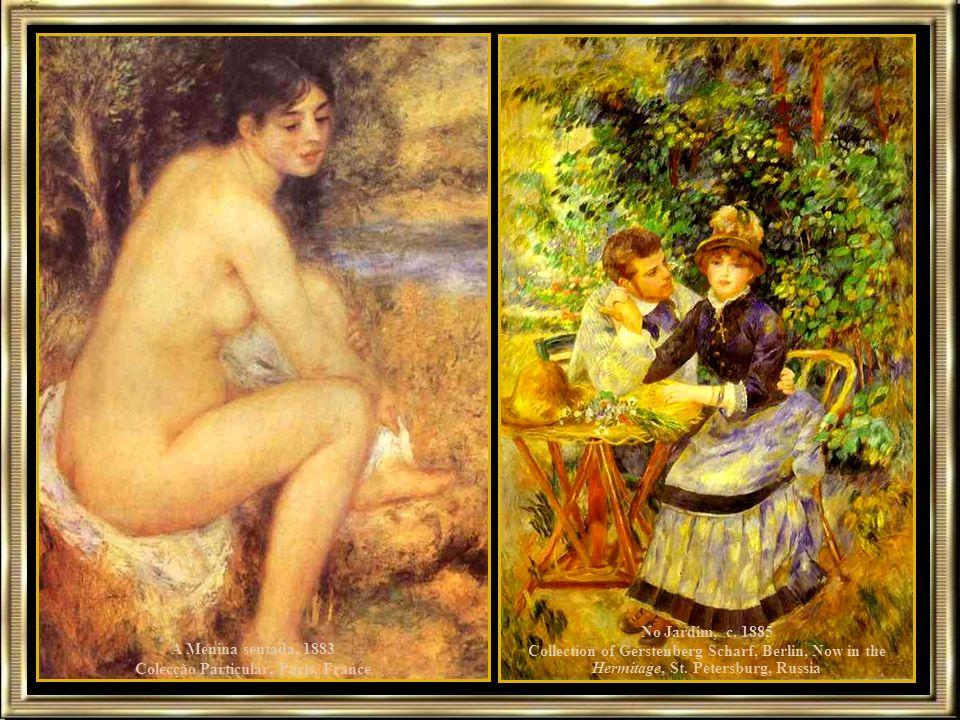 A Menina sentada, 1883 Colecção Particular, Paris, France